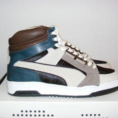 Ghete Puma Slip Stream X Made in Italy Men Sneaker 357261-02 nr. 42 - Ghete barbati Puma, Culoare: Din imagine, Piele naturala