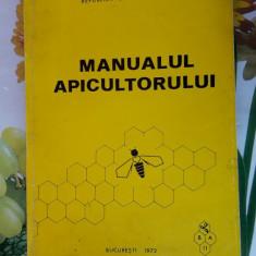 MANUALUL APICULTORULUI , ANUL 1975 . STARE FOARTE BUNA .