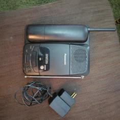 Telefon Fix Wireless Panasonic cu caseta inregistrare mesaje Portabil
