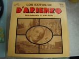 Los Exitos De D'ARIENZO Milongas Y Valses - Vinil LP Argentina