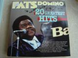 FATS DOMINO - 20 Greatest Hits - Vinil LP England