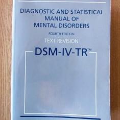 DIAGNOSTIC AND STATISTICAL MANUAL OF MENTAL DISORDERS, DSM-IV-943 PAGINI, 2005