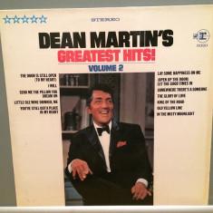 DEAN MARTIN - GREATEST HITS vol II (1982/REPRISE/RFG) - Vinil/Analog/Impecabil - Muzica Rock decca classics