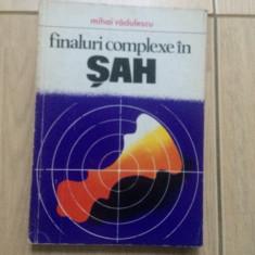 Finaluri complexe in sah mihai radulescu carte hobby 1978 editura sport turism - Carte sport