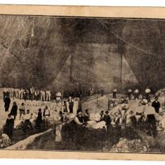 SALINA SLANIC PRAHOVA CAMPUL DE EXPLOATARE IN GALERIA ARDEALUL - Carte Postala Muntenia 1904-1918, Necirculata, Printata