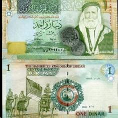 Iordania 2011 - 1 dinar UNC - bancnota asia