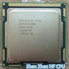 Procesor gaming Xeon X3450 Quad Core 4 nuclee si 8 threads socket LGA 1156 - Procesor PC, Intel, Intel Xeon, Numar nuclee: 4, 2.5-3.0 GHz