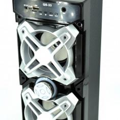 Boxa audio portabila activa cu diverse functii QS33