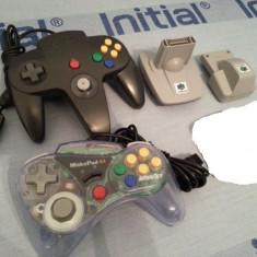 Nintendo 64 maneta adaptor caseta discheta Game Boy adaptor vibratii Nintendo54