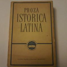 Proza Istorica Latina: Caesar, Sallustius, Titus Livius, Q. Curtius, Tacitus