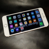 iPhone 6S Plus 64GB Gold,Liber de retea, Aproape Nou, Husa, Folie de sticla noua
