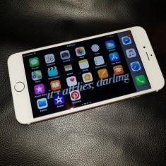 IPhone 6S Plus 64GB Gold, Liber de retea, Aproape Nou, Husa, Folie de sticla noua - Telefon iPhone Apple, Auriu, Neblocat