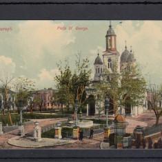 BUCURESTI PIATA SF. GHEORGHE PIATA SF. GEORGE - Carte Postala Muntenia 1904-1918, Necirculata, Printata