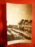 Ilustrata Buzau - Bdul N.Balcescu ,circulat 1963, Circulata, Fotografie
