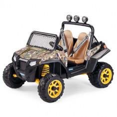 Masina Polaris Ranger RZR 900 Camouflage - Masinuta electrica copii Peg Perego