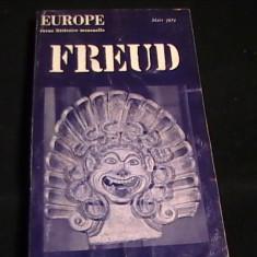 FREUD -EUROPE-REVUE LITERAIRE-346 PG-974- - Carte stiinta psihiatrie