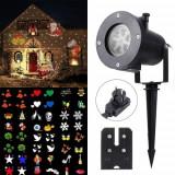 NOU! LUMINA STAR SHOWER LAWN LAMP DE EXTERIOR,40 PROIECTII DIFERITE,CU LED CREE!