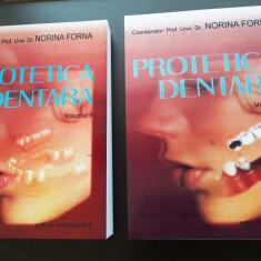 Tratat de Protetica Dentara - Norina Forna 2011 Vol. 1 + Vol. 2 NOU