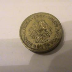 Africa de sud 1/2 cent 1961