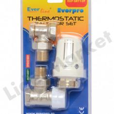 Robinet cu termostat Everpro EVP-SRT12P 1/2 - include si robinet retur - Aparat Filtrare si Dozator Apa