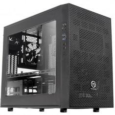 Carcasa Thermaltake Core X1 fara sursa Black - Carcasa PC Thermaltake, Cube