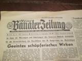 Ziar vechi in limba germana: Timisoara - Neue Banater Zeitung, din 1986.