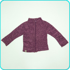DE FIRMA→ Pulover bumbac, frumos, cu fermoar, H&M→ fete | 5→6 ani | 110—116 cm, Marime: Alta, Culoare: Mov