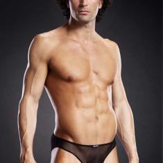 Pro-Mesh Bikini Brief Black S/M - Lenjerie sexy barbati