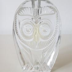VAZA TIP SOLIFLORA DIN CRISTAL MASIV, MODEL STILIZAT BUFNITA - Vaza sticla