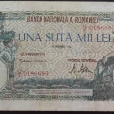 Bancnota 100000 lei - ROMANIA, anul 1946 / Decembrie  *cod 36