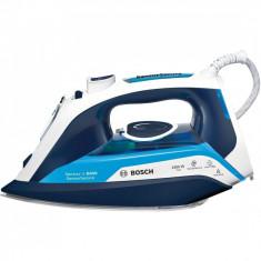 Fier de calcat Bosch TDA5024210 2400W, Alb/Albastru, Ceranium-Glissee, 350 ml