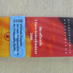 GERMANIA - 2 Euro 2006 - comemorativ - in folder - UNC, Europa