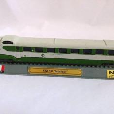 Macheta tren ETR 300 Settebello Italy, N 1:160 G=9mm, metal si plastic, 20cm, Locomotive