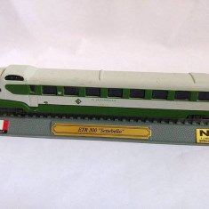 Macheta tren ETR 300 Settebello Italy, N 1:160 G=9mm, metal si plastic, 20cm - Macheta Feroviara, N, Locomotive