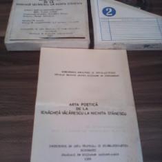 BANDA MAGNETOFON-ARTA POETICA DE LA IENACHITA VACARESCU LA NICHITA STANESCU