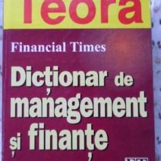 Dictionar De Management Si Finante - Richard Koch, 401154 - Carte Marketing