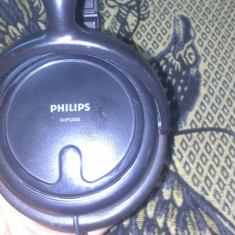 CASTI PHILIPS SHP2000 PERFECT FUNCTIONALE, Casti Over Ear, Cu fir, Mufa 3, 5mm