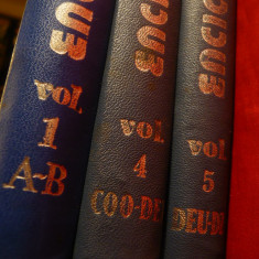 Coordonator Elena Ceausescu - Enciclopedia de Chimie - volume :1 , 4 si 5 -1983