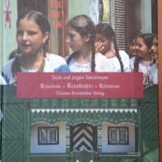 RUMANIEN, ROMANIA, ROMANIA, DORIS UND JURGEN SIECKMEYER - Carte Istoria artei