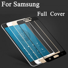 Folie sticla securizata curbata / Full 3D Samsung Galaxy A3 (2017) / A5 (2017) - Folie de protectie