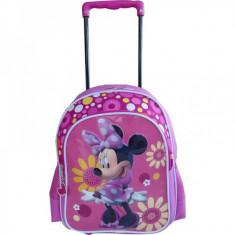 Troler Minnie Mouse pentru gradinita - Flori - Jocuri arta si creatie