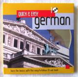 """QUICK & EASY GERMAN. Learn the basics"", Rob Alcraft. Carte + CD. Lb. Germana"