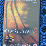 JEEPERS CREEPERS 2 (1 DVD FILM HORROR / GROAZA - STARE FOARTE BUNA!!!) - Film thriller, Engleza