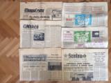 Lot 28 de ziare vechi perioada comunista