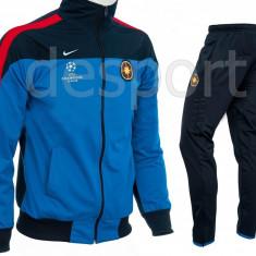 Trening Steaua - FCSB - Bluza si pantaloni conici - Modele noi - 1194 - Trening barbati, Marime: S, M, L, XL, XXL, Culoare: Din imagine