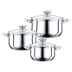 SET CRATITE INOX CU CAPAC 6P (1.9/2.5/3.4) PH-15823