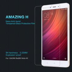 Folie Sticla Securizata / Tempered Glass pentru Xiaomi Redmi Note 4X / 9H - Folie de protectie