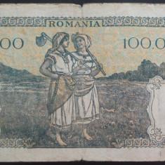 Bancnota 100000 lei - ROMANIA, anul 1946 / Mai  *cod 18