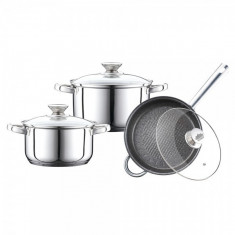 SET CRATITE INOX CU CAPAC 6P (2.5/3.4) PH-15829
