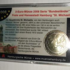 GERMANIA - 2 Euro 2008 - comemorativ - in blister - UNC, Europa